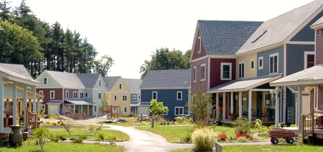 Mosaic Commons Cohousing, Berlin, MA - by Diana Carroll